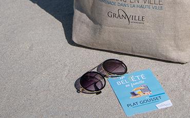 Des produits dérivés aux couleurs de la marque Granville seront mis en vente en exclusivité dans le cadre d'Un bel été en famille au Plat Gousset cet été 2019.