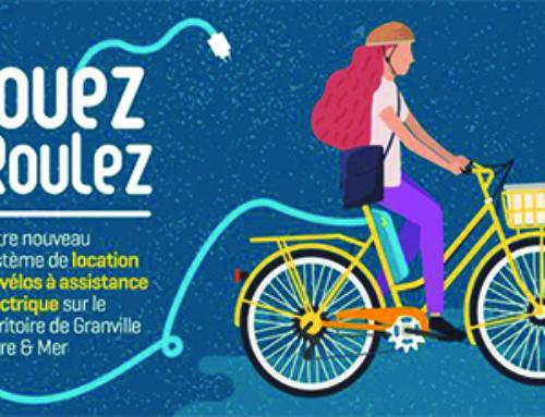 Granville Terre et Mer propose un service de location de vélo à assistance électrique