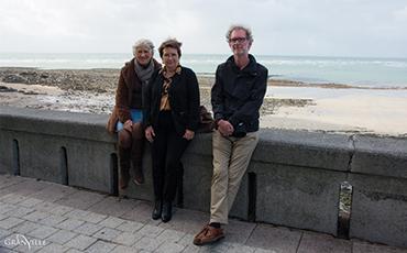 Mireille Deniau, Christine Philippeau et Edouard Launet.