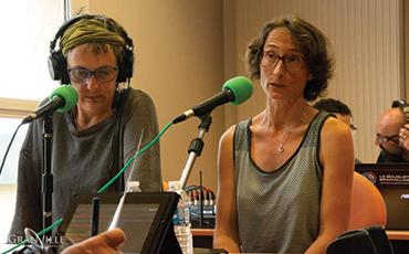 Des bénévoles ont présenté leurs émissions.©Flora.Gelot