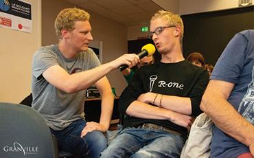 Arnaud a interrogé les personnes présentes dans le public©Flora.Gelot