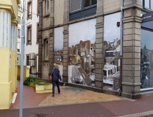 Quand les murs de la Ville se parent de photographies XXL