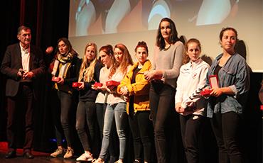 Sport scolaire - Equipe fille de handball