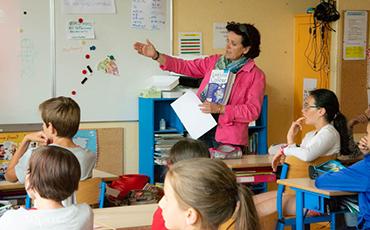 Dominique Baudry, maire de Granville, a appelé les élèves un à un.