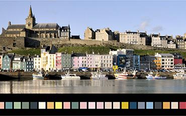 Guide de coloration des façades Granville©Ludivine.Scelles