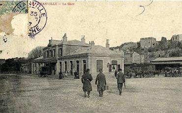 La gare de Granville a 150 ans.©Musée d'art et d'histoire de Granville.