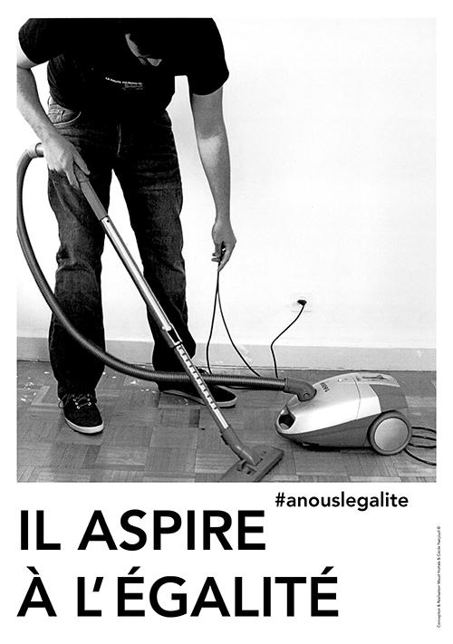 Il aspire à l'égalité. ©Maud Hortala & Cécile Nanjoud