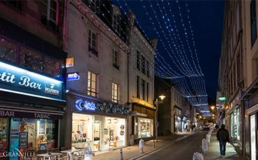 Les fêtes de fin d'année se préparent à Granville ! ©Benoit.Croisy - Coll. Ville de Granville