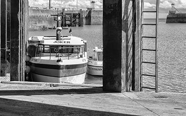Pêcheur granvillais. ©B.Croisy