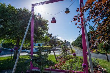 Décoration florale Granville. Saison 2017.©B.CROISY