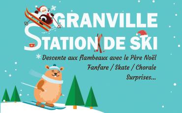 Slide Granville station de ski