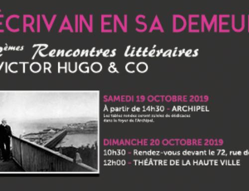 Tables rondes, balade hugolienne et lectures aux Rencontres littéraires