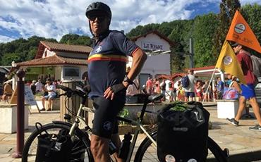La Ville de Granville et le Rotary Club de Granville accueilleront Philippe Sudres ce vendredi 2 octobre, à 17h, à l'Hôtel de Ville. La cité corsaire fait partie des 60 étapes du Tour de France Solidaire du coureur.